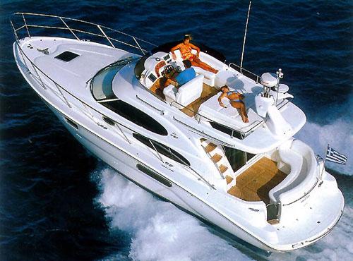 """Яхта """"SeaLine F37"""""""